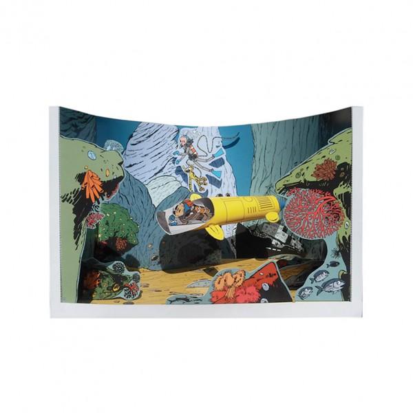Diorama Le repère de la Murène