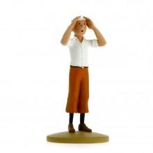 Tintin in the desert