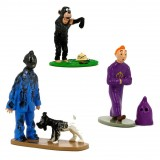 Tintin trio, Expressions