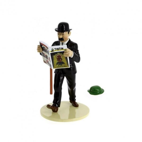 Dupond et chapeau - Lisez Tintin