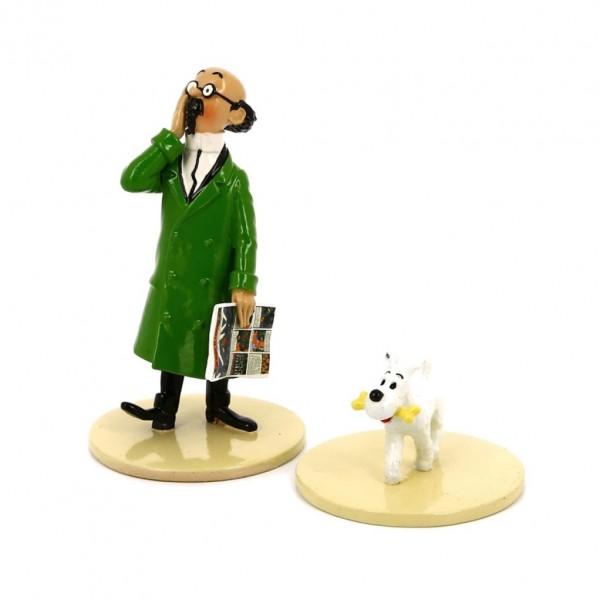 Tournesol et Milou - Lisez Tintin