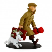 Tintin and Snowy - On their way