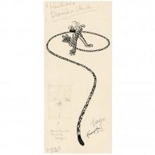 Affiche Le Marsupilami 50x100 cm