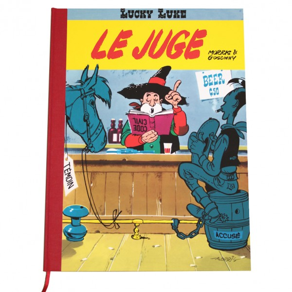 Le Juge, Lucky Luke Ed. Luxe Couleur