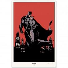 Silkscreen print - Batman by Marini (signed)