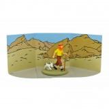 Tintin et Milou dans le désert