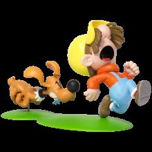 Bill et Pouf - Figurine