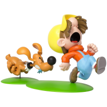 Figurine - Boule & Bill - Bill (Buddy) and Pouf