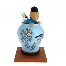 Tintin and Snowy in the vase, Les icônes