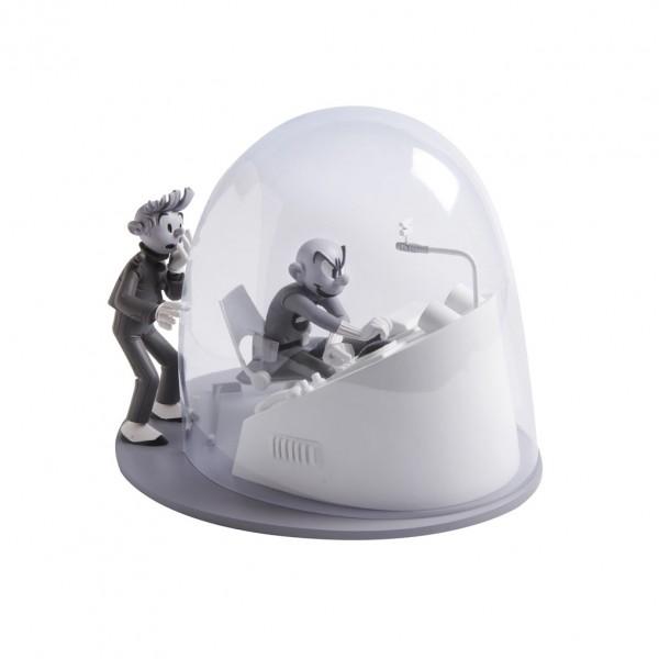 La bulle - Z comme Zorglub - N/B - Les Cases de Franquin