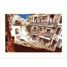 Serigraph - Main basse sur la ville n°4 - Gomont