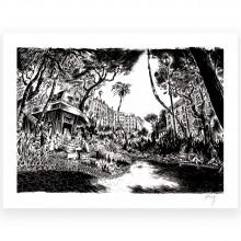 Sérigraphie noir & blanc