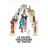 Affiche Tintin - Le musée imaginaire