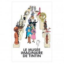 Tintin Poster - Le musée imaginaire