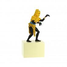 Figurine-L'Homme Léopard, musée imaginaire de Tintin