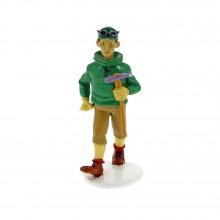 Tintin 1972 Greeting Card - Tharkey the Sherpa