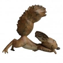 Figurine Spip en bronze véritable