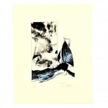 Serigraph - Battaglia - Les bateaux