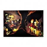 Affiche - Les marais du temps - Le Spirou de Frank Le Gall