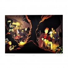 Poster - Le Gall - Les marais du temps - Le Spirou de
