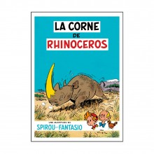 Tirage de luxe - La Corne de Rhinocéros - Version N&B
