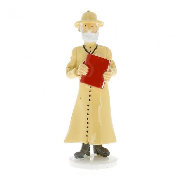 Figurine - Le père missionnaire - Carte de voeux 1972