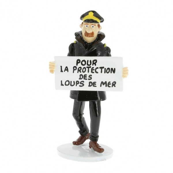 Figurine - Capitaine Chester - Carte de voeux 1972