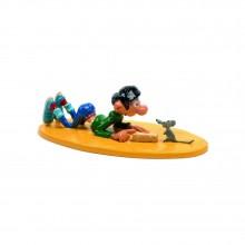 Figurine - Gaston et sa souris (ex. M.P.) par Pixi