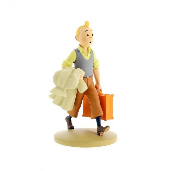 Figurine - Tintin en route (Moulinsart)