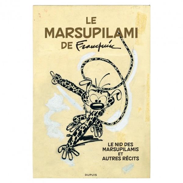 Tirage de tête Spirou VO Le Marsupilami de Franquin