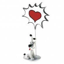 Figurine Asterix Idéfix Love speech balloon