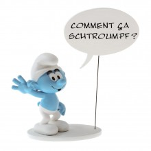 Figurine Collectoys Are you Smurfing ? (in french)