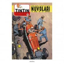 Poster Jean Graton & Journal Tintin 1954 N°40