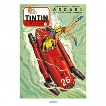Poster Jean Graton & Journal Tintin 1955 -N°32