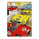 Affiche Jean Graton & Journal Tintin 1957 - n°44