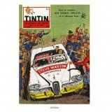 Affiche Jean Graton & Journal Tintin 1958 - n°06