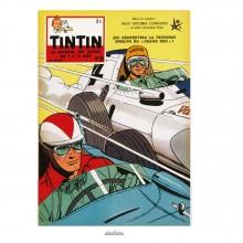 Poster Jean Graton & Journal Tintin 1958 n°26