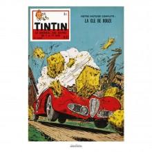 Affiche Jean Graton & Journal Tintin 1958 - n°47
