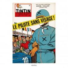 Affiche Jean Graton & Journal Tintin 1959 - n°01