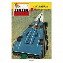 Poster Jean Graton & Journal Tintin 1959 n°04