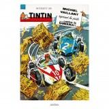 Affiche Jean Graton & Journal Tintin 1964 - n°08