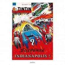 Poster Jean Graton & Journal Tintin 1964 n°44