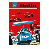 Poster Jean Graton & Journal Tintin 1969 n°02