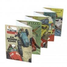 20 postcards Michel Vaillant Journal Tintin