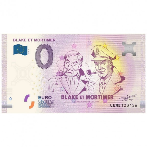Collectible bill Blake et Mortimer