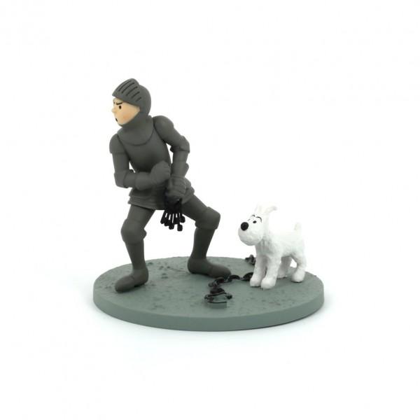 Figurine Attakus Tintin in armor