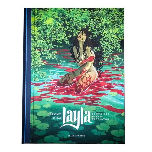 Tirage de luxe - Layla (signé par Mika et Jérémy) - Couverture Mika