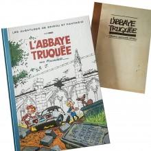 Spirou et Fantasio - L'Abbaye truquée (signé par Fournier)
