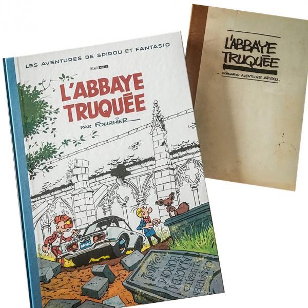 Deluxe album Spirou et Fantasio L'Abbaye Truquée (french Edition)