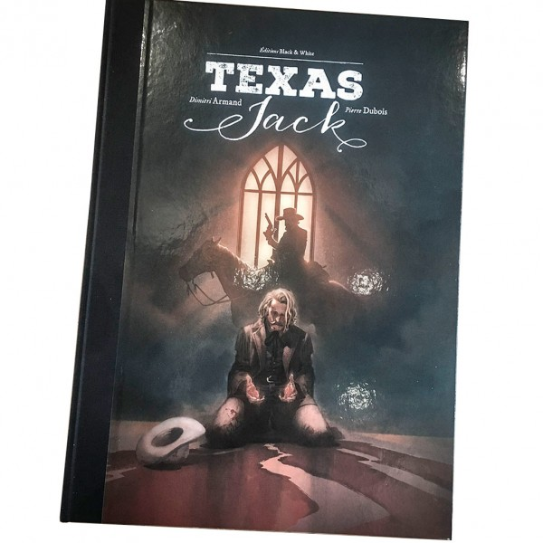 Deluxe album Texas Jack signed (french Edition)